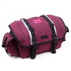 *SWIFT INDUSTRIES* zeitgeist saddle bag  (L/x-pac burgundy))