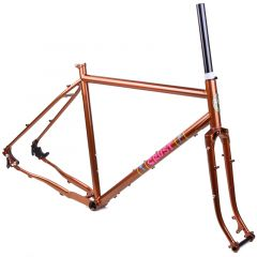 *CRUST BIKES* evasion frame (copper)