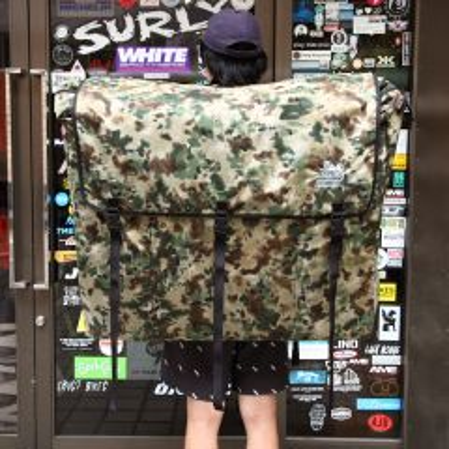 *MASH* jandd bike flight backpack (camo)