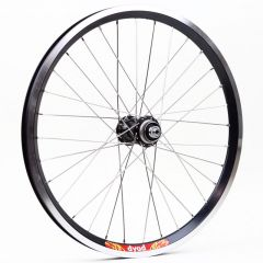 "*VELOCITY* dyad 20"" wheel (black)"