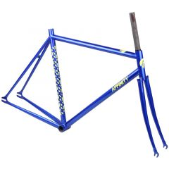*AFFINITY CYCLES* metropolitan track frame (blue metalic)