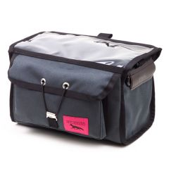 *SWIFT INDUSTRIES* paloma handlebar bag (steel)