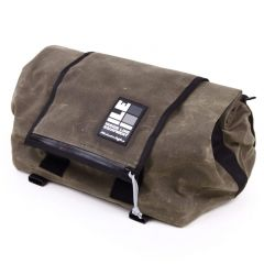 *ILE* rack bag (waxed tan)