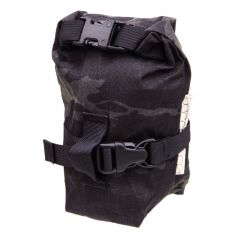*OUTER SHELL ADVENTURE* rolltop saddlebag (multicam black)