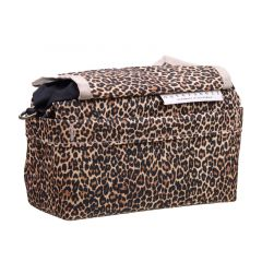 *OUTER SHELL ADVENTURE* drawcord handlebar bag (leopard)