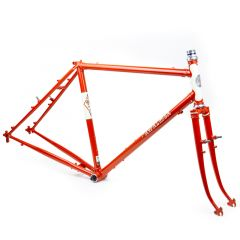 *RIVENDELL* joe appaloosa frame set (orange)
