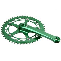 *PHILWOOD* track crank set (green)