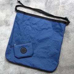 *FAIRWEATHER* packable sacoche (x-pac navy)