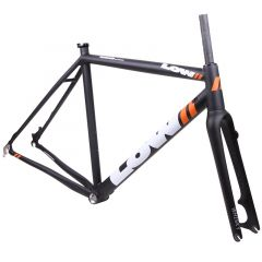 *LOW BICYCLES* MKii cx frame set (54/black/white)