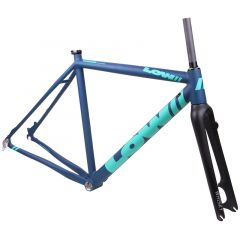 *LOW BICYCLES* MKii cx frame set (52/navy/green)