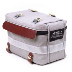 *RIVENDELL* sackville trunk sack (light gray grid)