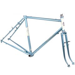 *RIVENDELL* joe appaloosa frame set (blue)