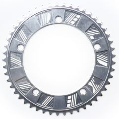 *DELUXE CYCLES* chainring (silver)