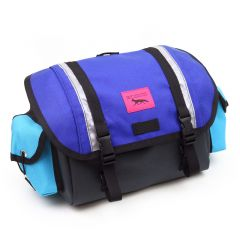 *SWIFT INDUSTRIES* zeitgeist saddle bag (S/blue/turquoise/steel)