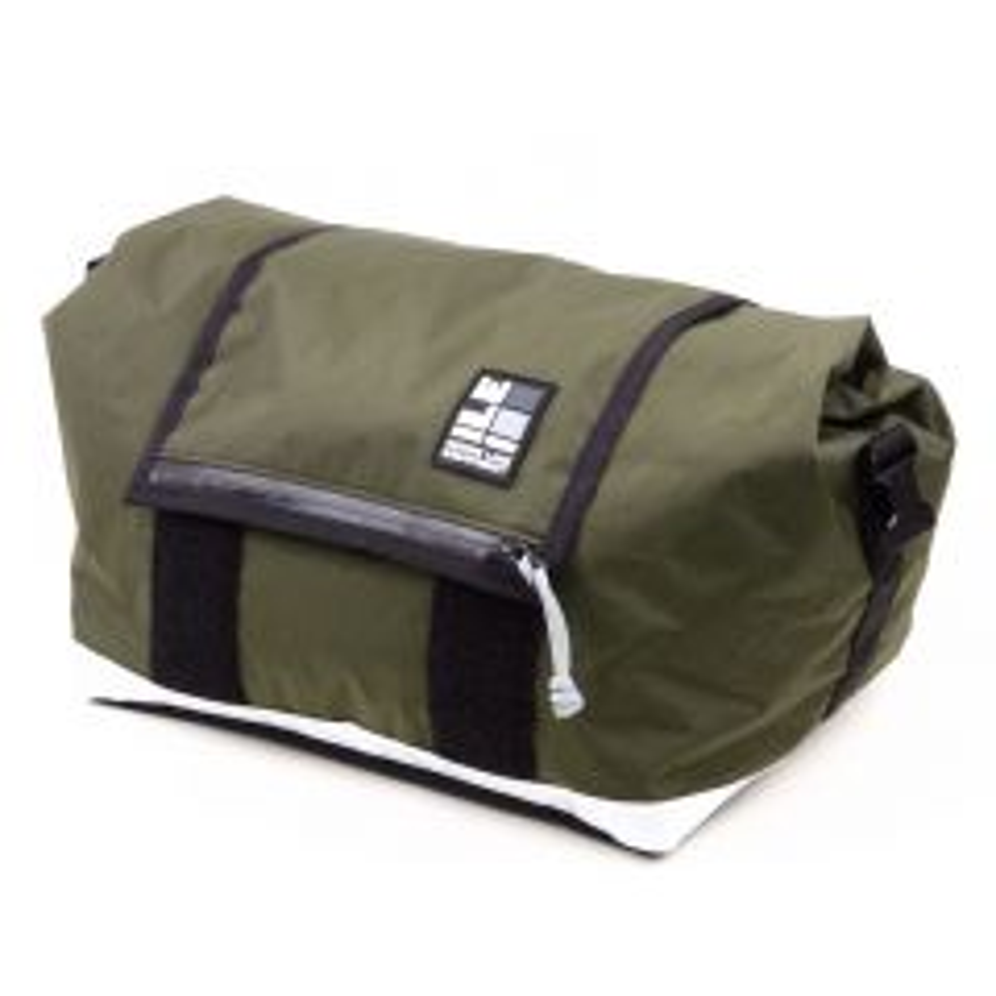 *MASH* ILE × MASH rack bag (x-pac olive)