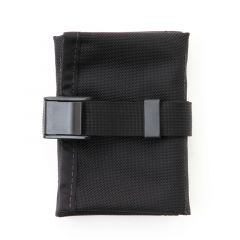 *REALM* saddle tool roll (black)