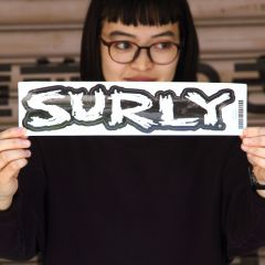 *SURLY* logo sticker (M)