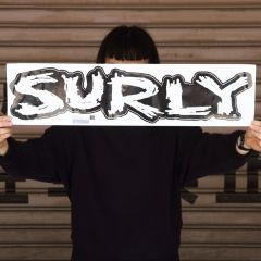 *SURLY* logo sticker (L)