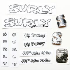 *SURLY* big dummy frame decal set (clear)