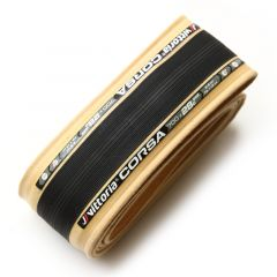 *VITTORIA* corsa clincher tire (black/skin)