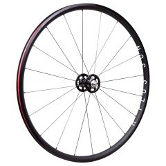 *H PLUS SON × PAUL* archetype track front wheel (black/20h)