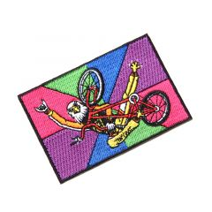 *CRUST BIKES* shred eagle patch