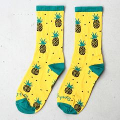 *SOCKGUY* long socks (pineapple)