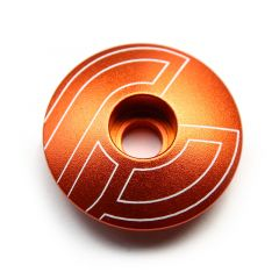 *CINELLI* cinelli top cap (orange)