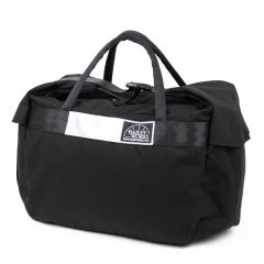 *BAILEYWORKS* whale mouth duffel (black)