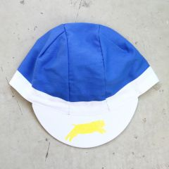 *TEAM DREAM BICYCLING TEAM* 3panel FS team cap (royal/white)