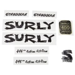 *SURLY* straggler frame decal set (black)