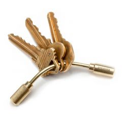 *CRAIGHILL* open helix key ring
