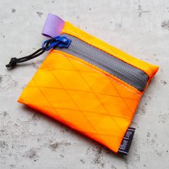 *BLUE LUG* saihou pouch (x-pac orange/gray)