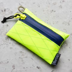 *BLUE LUG* bansoukou pouch (x-pac yellow/blue)