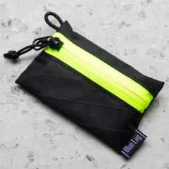 *BLUE LUG* bansoukou pouch (x-pac black/yellow)