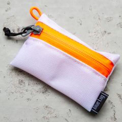 *BLUE LUG* bansoukou pouch (white/orange)