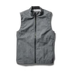 *SWRVE* fully seam-sealed waterproof vest (heather grey)