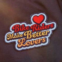 *ALL CITY* bike riders make better lovers patch