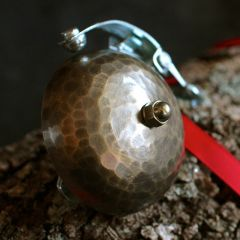 *TOMII CYCLES* hammered brass bell