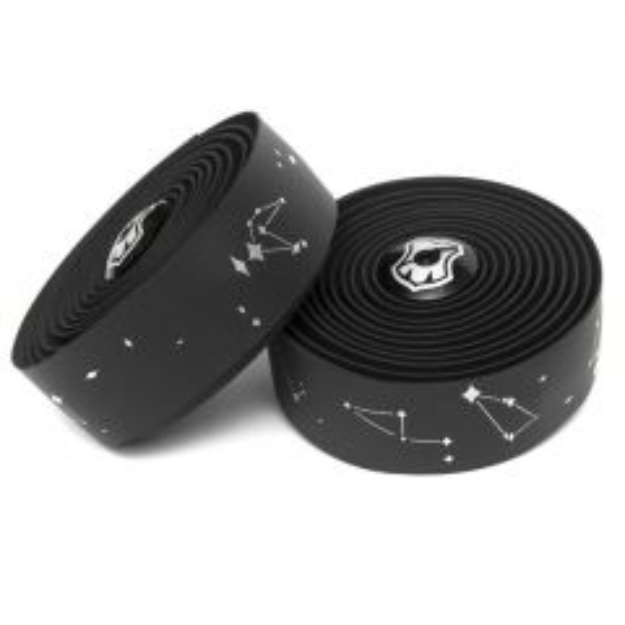 *MASH* constellation bar tape + end plug set (black)