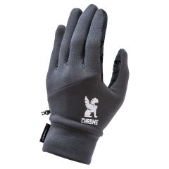 *CHROME* power strech glove (grey)