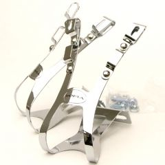 *SOMA*four gate toe clips (silver)