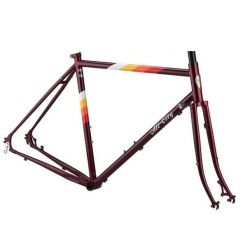 *ALL CITY* space horse disc frame set (dark red)