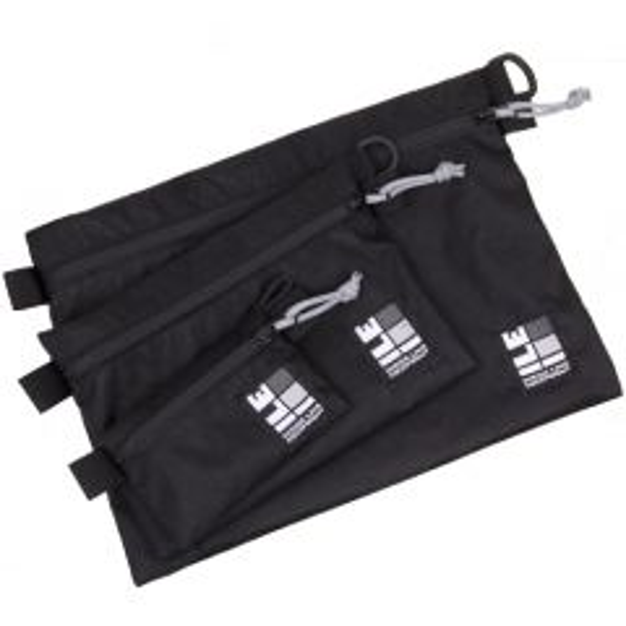 *ILE* load cell flat 3P set (X-PAC/black)