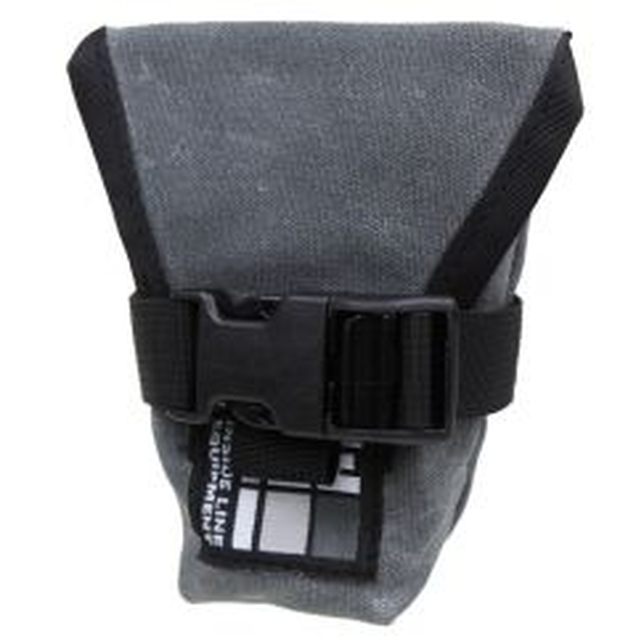 *ILE* seat bag (waxed gray)