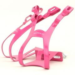 *SOMA*four gate toe clips (pink)