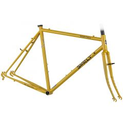 *SURLY* cross check frame&fork set (stoned ground mustard)