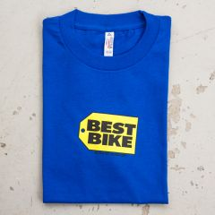*BLUE LUG* best bike t-shirt (blue)