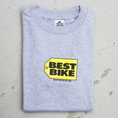 *BLUE LUG* best bike t-shirt (gray)
