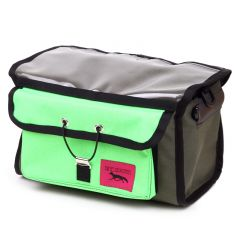*SWIFT INDUSTRIES* paloma handlebar bag (olive/neon green)
